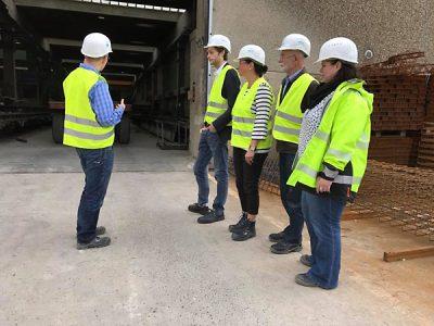 Unternehmensbesuch bei der Firma Drössler Umwelttechnik in Siegen